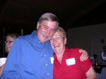 Tom (interloper) and Gail Maclary Chickersky. (Uploaded by Ann Stegner Gladwin)