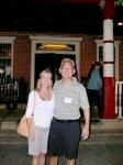 Steve Arimoto and his wife in front of the Deer Park Hotel! (Uploaded by Ann Stegner Gladwin)