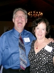 The Lambert duo; Bob ('68) and Betsy ('67) at the Dinner and Dance on Saturday night. (Uploaded by Ann Stegner Gladwin