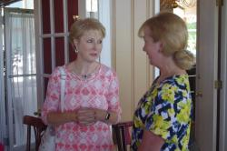 Sue Ladd Clements and Mary Ann Berger Ryan