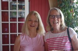 Pat Walker Mroz '68 and Mary Ludlow Duket