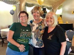Linda Marcantonio Stanton, Nancy Hawthorne Wilson, and Barbara Shelton Moody - Barb Moody photo